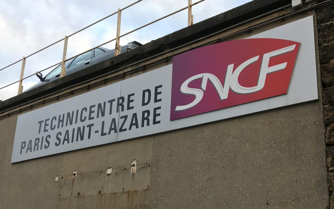 Visite du Technicentre de Paris Saint Lazare