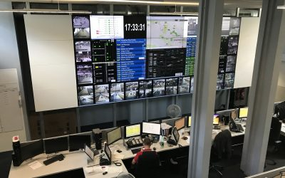 Visite du Centre Opérationnel Escale (COE) de la gare Paris Saint-Lazare