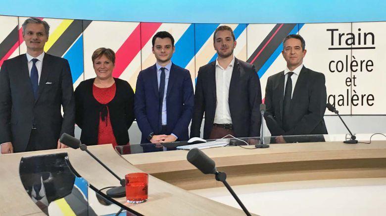 """L'UDUPC participe à l'émission """"Dimanche en politique"""" de FR3 Normandie"""