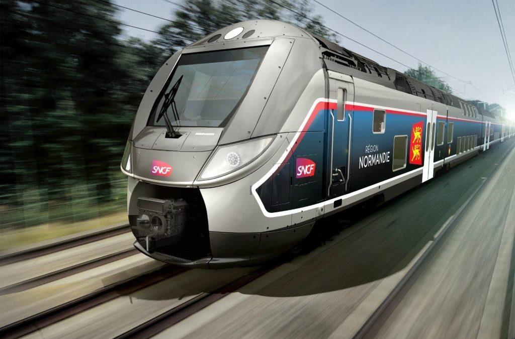 Découverte des nouveaux trains normands