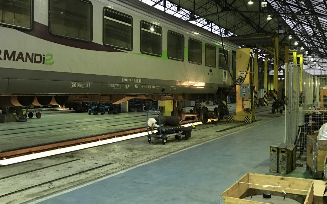 Modification de la composition des rames à partir de décembre 2019 sur la ligne Paris-Cherbourg