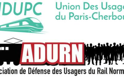 CP UDUPC – ADURN – Reprise du trafic ferroviaire : Entre mesures sanitaires et réalité des usagers !